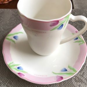 Small cups and plates from Givenchy